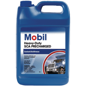 mobil heavy duty sca precharged